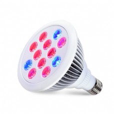 LED Kweek - E27 - 12W - Red9/Blue3